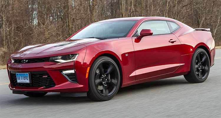 2016 Chevrolet Camaro Ss On The Cr Track