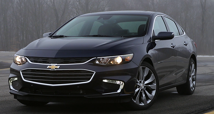 Redesigned 2016 Chevrolet Malibu Sings Consumer Reports