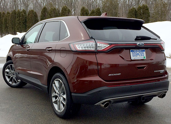 awd motor cars first ford edge sport test review trend
