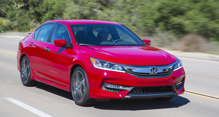 The Honda Accord sedan is a good choice to get to 200,000 miles.