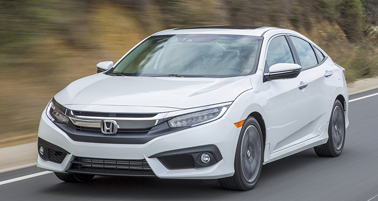 The Honda Civic compact car is a good choice to get to 200,000 miles.