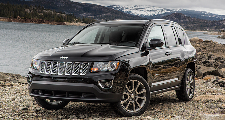 Jeep Compass and Jeep Patriot SUVs