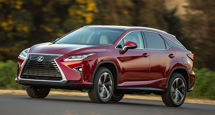 Lexus Rx Best Suvs For Family