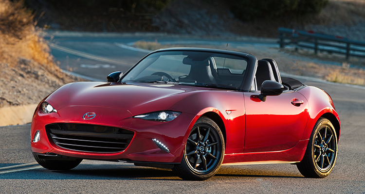 The Mazda Miata Roadster Is A Wind In Hair Father S Day Gift