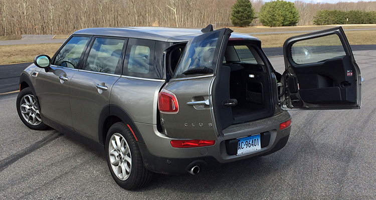 2016 Mini Cooper Clubman Rear With Open Doors