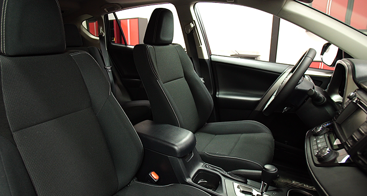 The Interior Of 2016 Toyota Rav4 Shows Improvement Over Previous Model