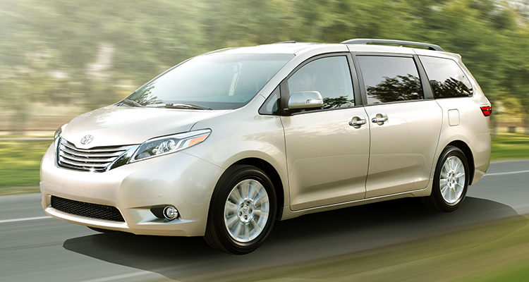 The Toyota Sienna minivan is a good choice to get to 200,000 miles.