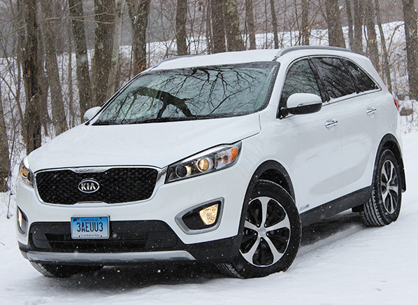 Redesigned 2016 Kia Sorento Suv Steps It Up Consumer Reports