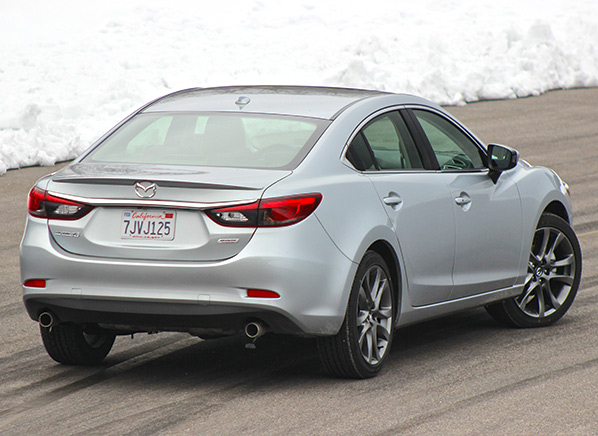 Unlike Many Typical Midsized Sedans Such As The Honda Accord And Toyota Camry Mazda6 Is More Agile In Corners Making It A Compelling Choice For