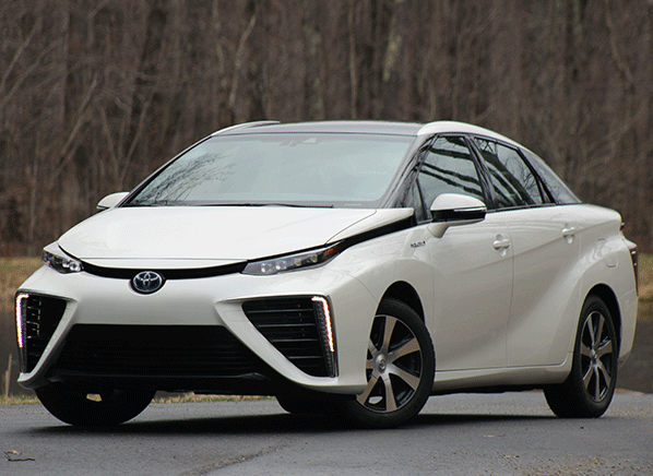 Driving The 2016 Toyota Mirai On Hydrogen Highway