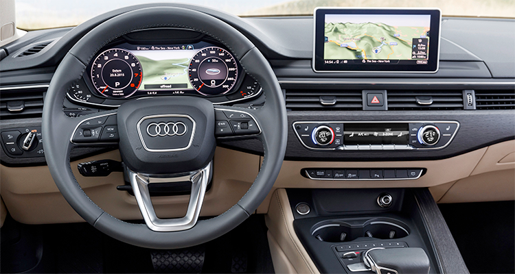 2017 audi a4 has more going on than meets the eye consumer reports. Black Bedroom Furniture Sets. Home Design Ideas