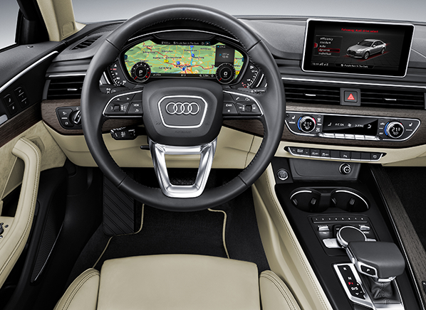A Highlight Of The Cabin Is New Dashboard Which Features Air Vents Spanning Its Width Audi Says These Help Heat Or Cool Quicker