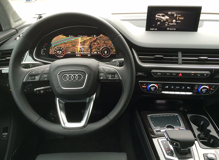 Audi Q SUV Proves Slick And Opulent Consumer Reports - Audi q7 reviews