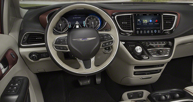 2017 Chrysler Pacifica Minivan Interior