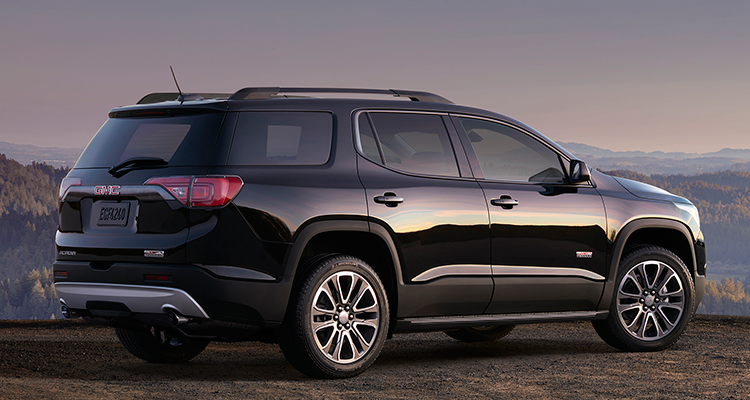 2017 Gmc Acadia Suv Rear