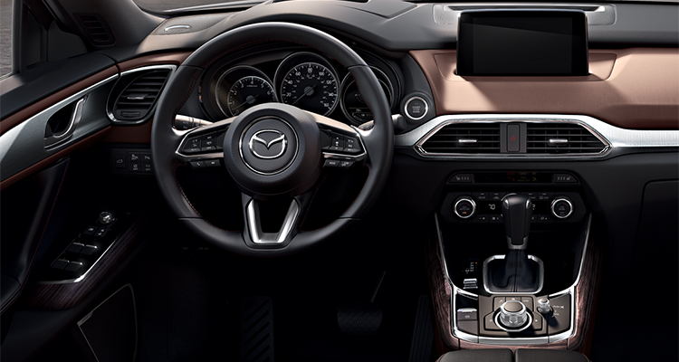 Interior Of The 2017 Mazda CX 9