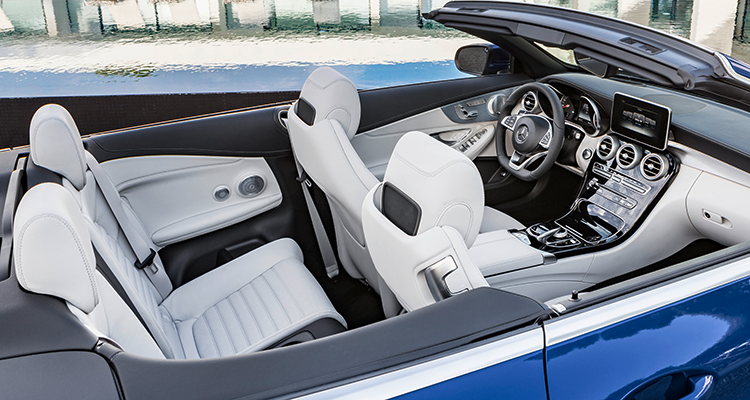 Mercedes Benz Takes The Top Off C Class Coupe Consumer