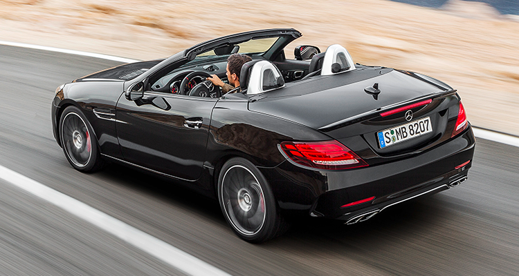 2017 Mercedes Benz Slc Roadster Consumer Reports