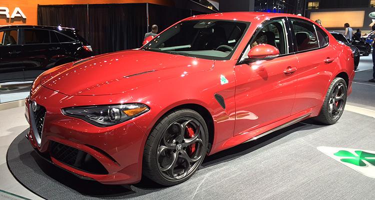 Alfa Romeo Guilia at the LA Auto Show