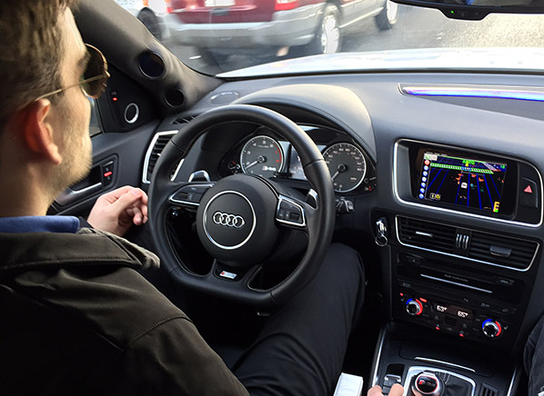 6 coolest new car technologies racing to a driveway near you ces 2015 consumer reports. Black Bedroom Furniture Sets. Home Design Ideas
