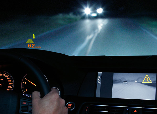 driving a bmw with night vision proves illuminating consumer