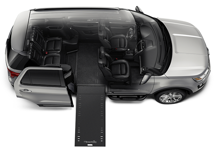 Wheelchair-accessible Ford Explorer