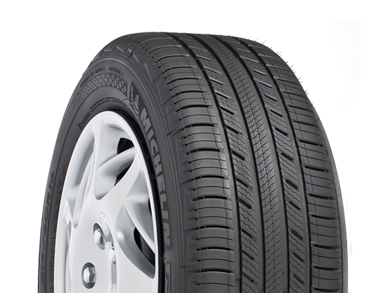 An all-season car tire.
