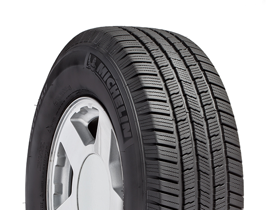 An all-season truck tire.