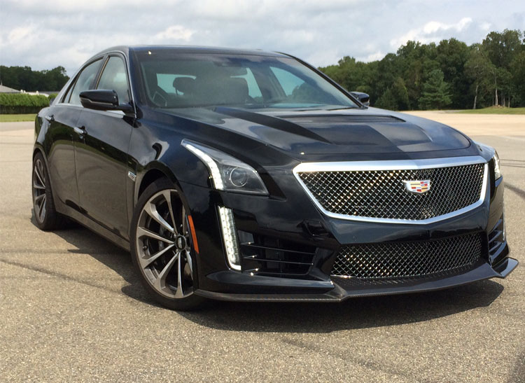 Piloting the 640hp Cadillac CTSV Super Sedan  Consumer Reports
