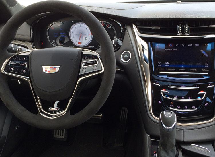 Piloting The 640 Hp Cadillac Cts V Super Sedan Consumer Reports