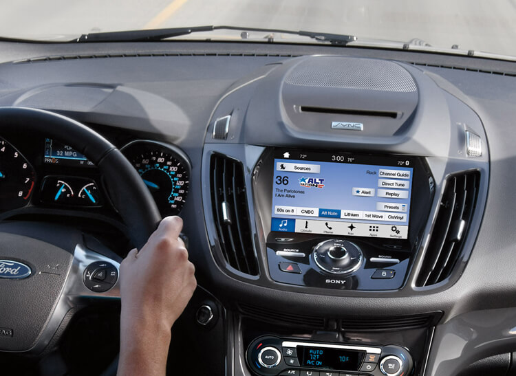 Ford Sync on the road in an Escape. & Ford Sync 3 Review - Consumer Reports markmcfarlin.com