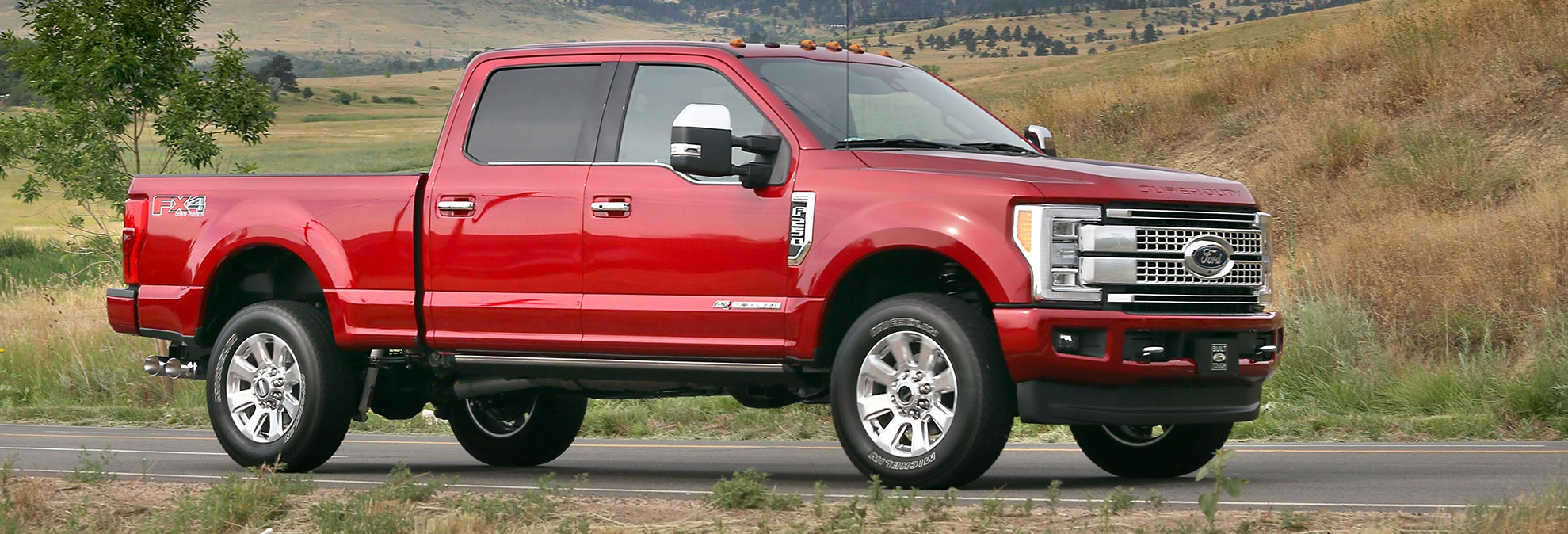 2017 Ford F 250 Pickup Truck Shaves Weight Adds