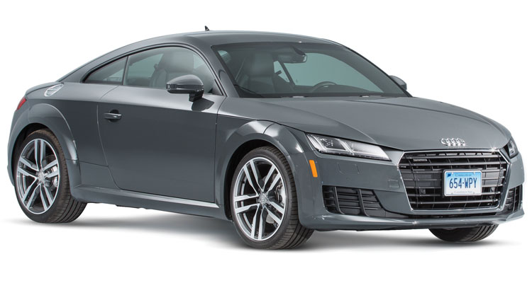 Audi TT Front Exterior. Few Car Companies Create Modernist Elegance Like ...