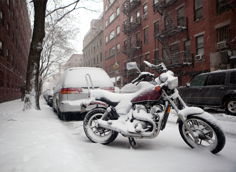 how to prep your motorcycle for winter storage consumer news. Black Bedroom Furniture Sets. Home Design Ideas