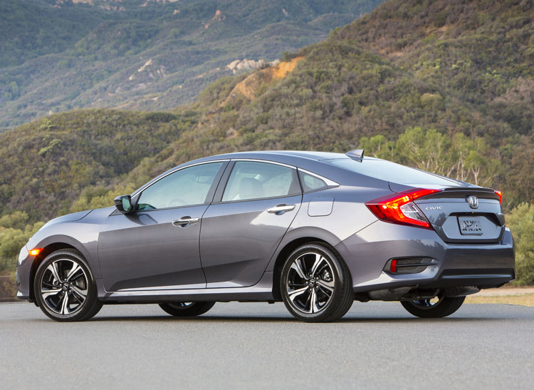 The 2016 Honda Civic Hopes To Recast Automakers Mainstay Small Car As Premium And Aspirational