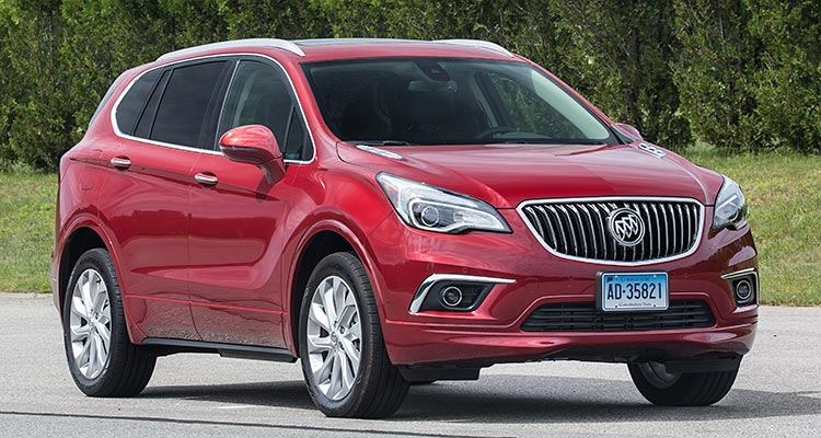 New 2016 Buick Envision Suv Proves Disappointing