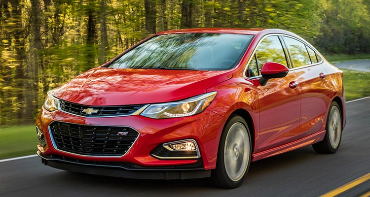 Most reliable cars: Chevrolet Cruze