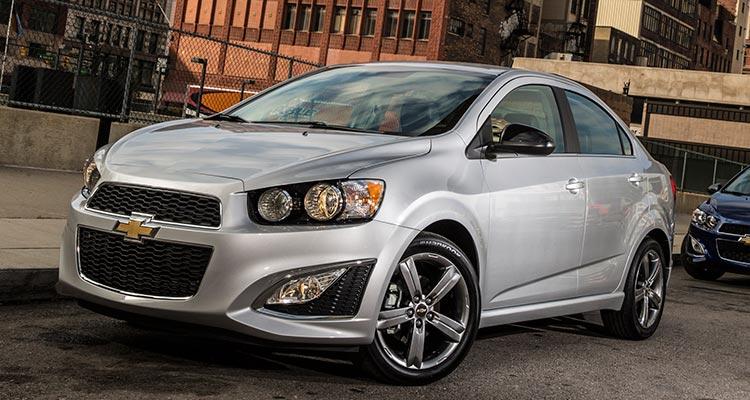 American cars: Chevrolet Sonic sedan