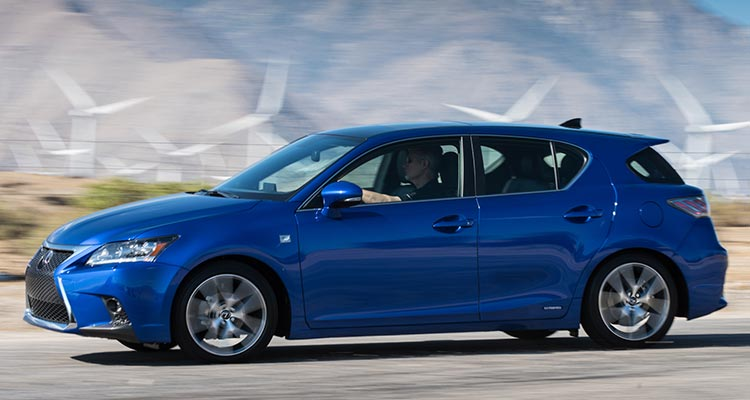 Most reliable cars: Lexus CT 200h