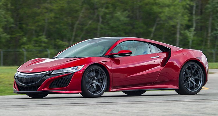 2017 Acura NSX Hybrid Is the Friendly Supercar - Consumer Reports