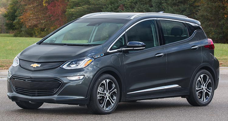 2017 Chevrolet Bolt Ev Impresses Consumer Reports
