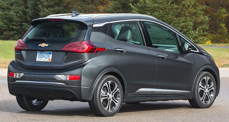 2017 Chevrolet Bolt Ev Rear