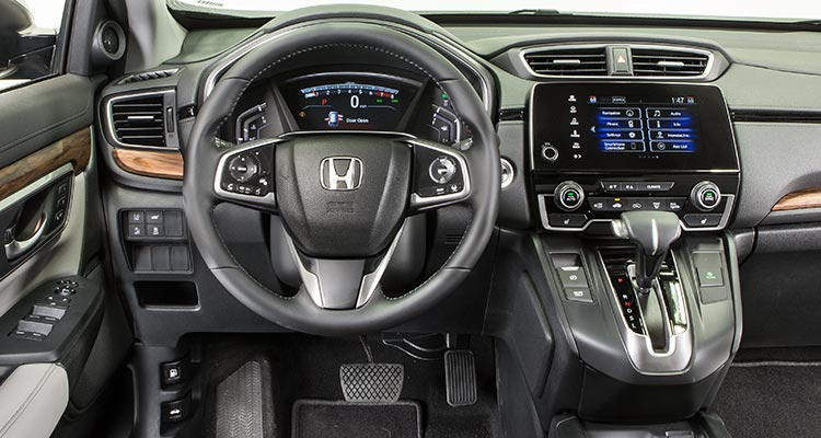 2017 Honda Cr V Suv Interior