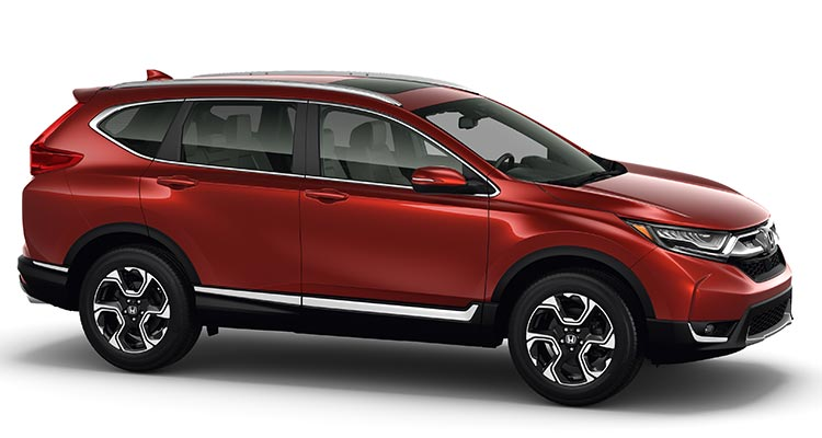 2017 honda cr v is bigger and better equipped consumer for Is a honda crv a suv