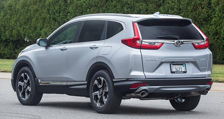 2017 Honda Cr V Suv Rear