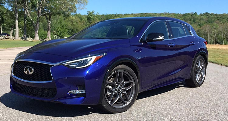 2017 infiniti qx30 suv has international flair consumer reports. Black Bedroom Furniture Sets. Home Design Ideas