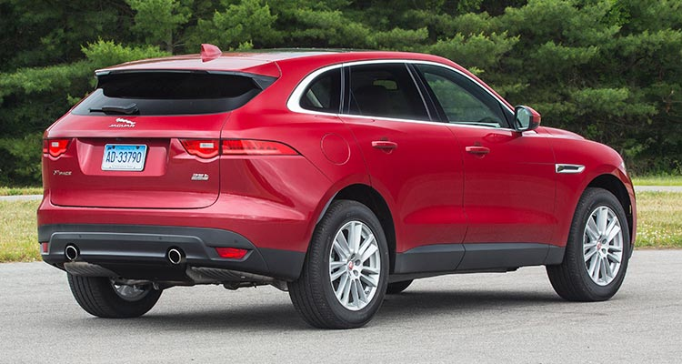 2017 Jaguar F Pace Suv Rear