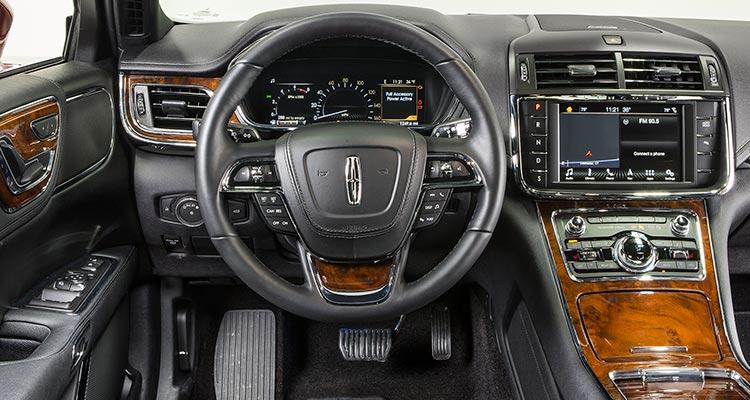 All new 2017 lincoln continental luxury sedan consumer - 2017 lincoln continental interior ...