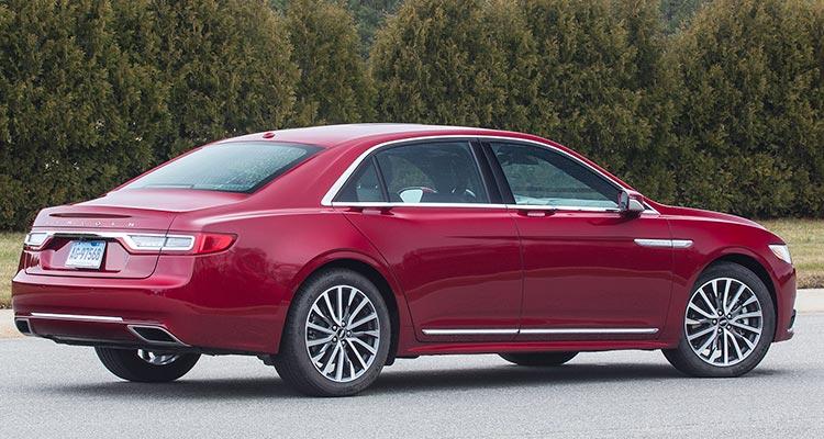 all new 2017 lincoln continental luxury sedan consumer reports. Black Bedroom Furniture Sets. Home Design Ideas