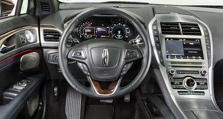 2017 lincoln mkz moves upscale consumer reports - 2017 lincoln mkz hybrid interior ...